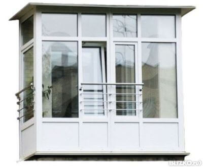 пластиковые балконы киев