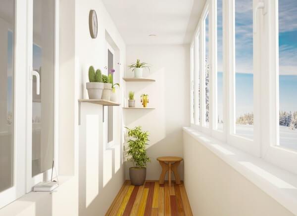 Рассчитать стоимость остекления балкона Киев 1