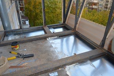 Ремонт балкона Киев цена 1