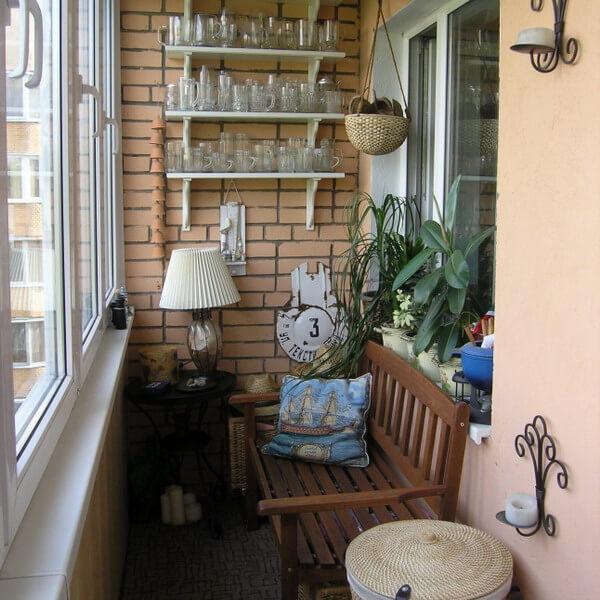 Застеклить балкон в хрущевке Киев цена 4