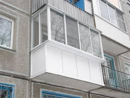 Застеклить балкон в хрущевке Киев цена