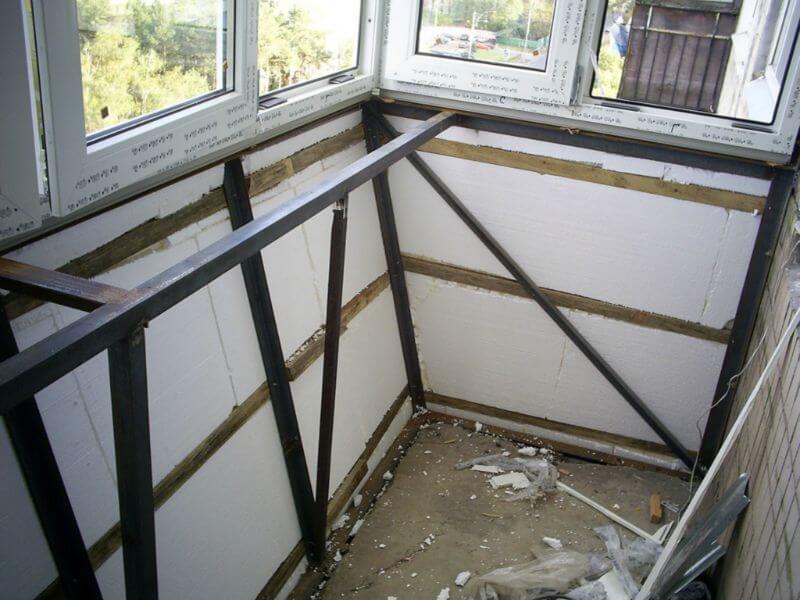 Застеклить балкон с выносом цена Киев 2