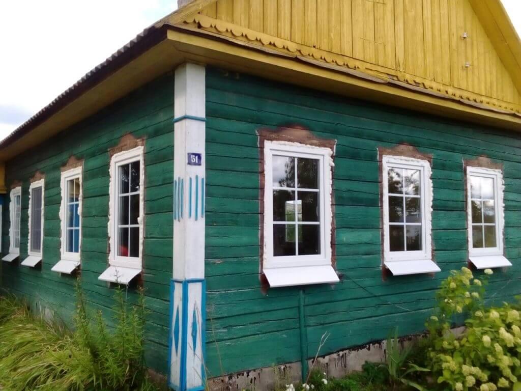 Пластиковые окна для дачи 1