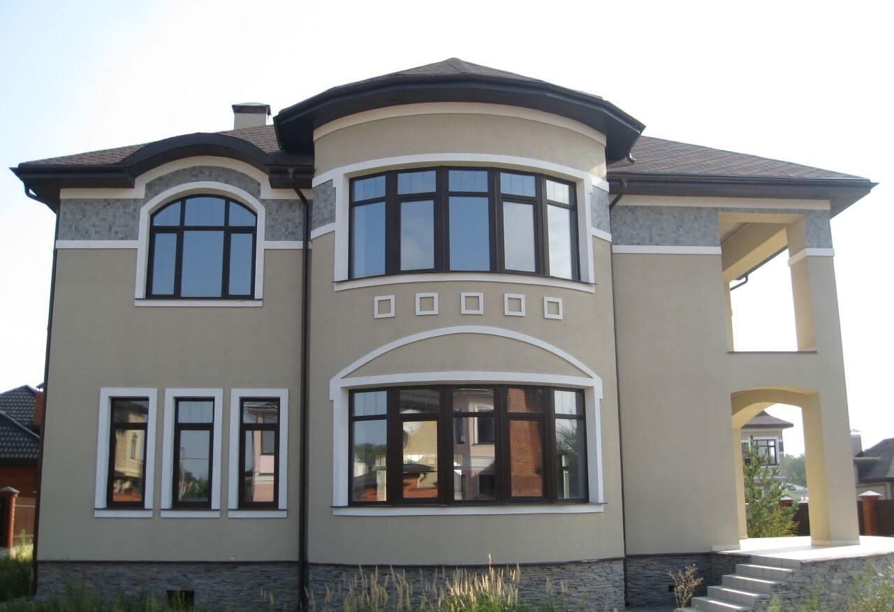 Пластиковые окна для дома и коттеджа 2