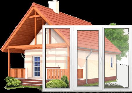 Пластиковые окна для дома и коттеджа 3