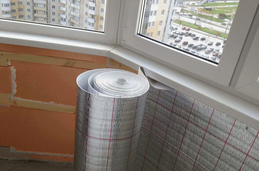 Утепление балкона внутри 3