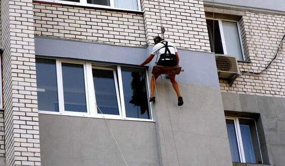 Утепление балкона снаружи 1