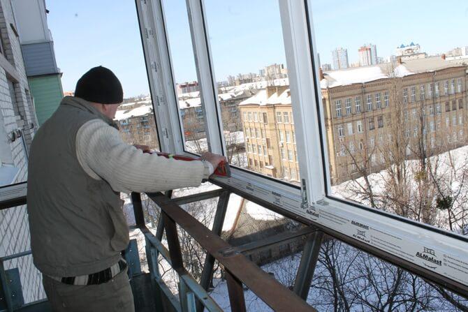 Утепление балкона снаружи 2