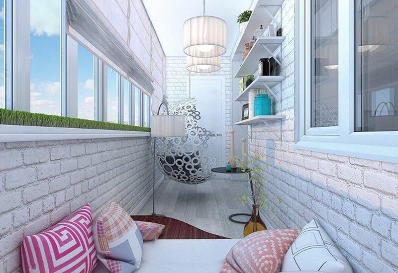 внутреннее утепление балкона киев