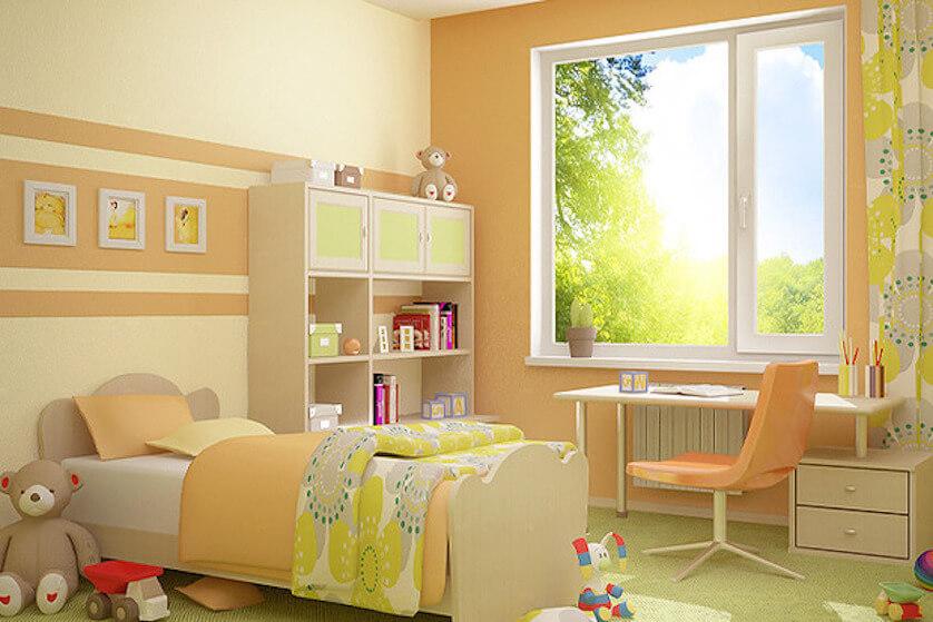 пластиковые окна для детской 4