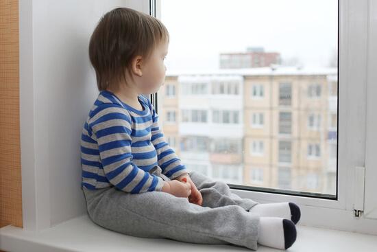 пластиковые окна для детской