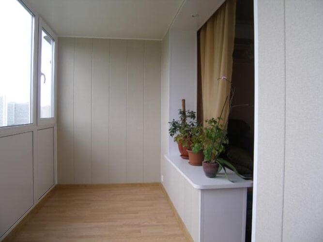 облицовка балкона киев 2